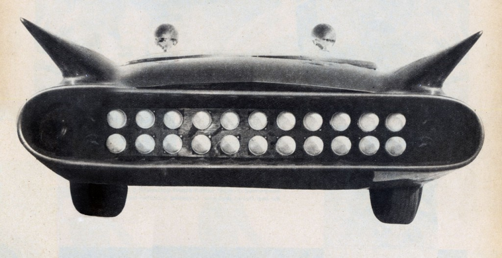 JJ is working on this image from the 1960 issue of Car Craft. The photo quality in CC wasn't great, and JJ is working on this image.